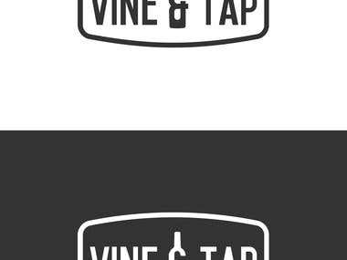 Vine and Tap Logo