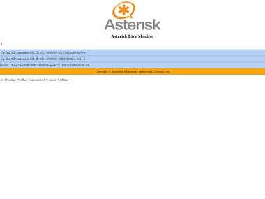 Asterisk Live  Call Monitor