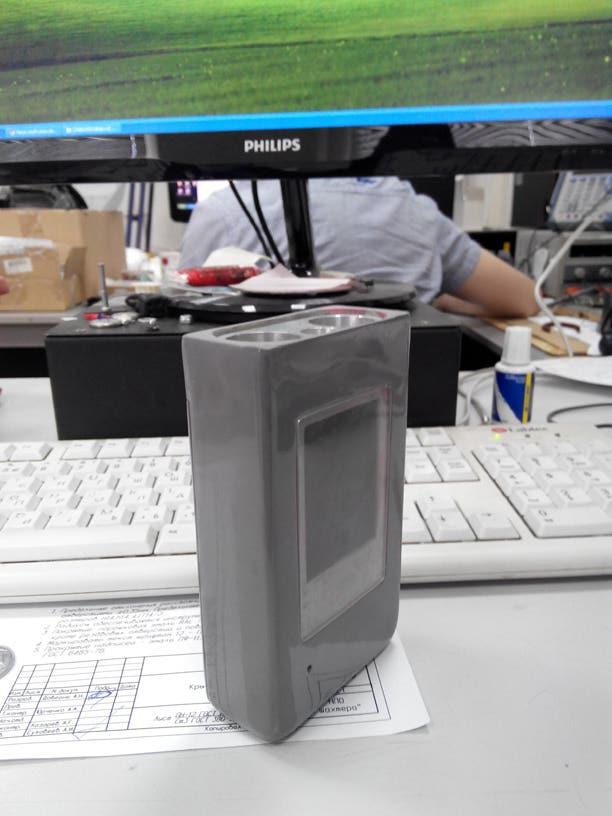 Portable multi-gas analyzer prototype (LPC1768 based