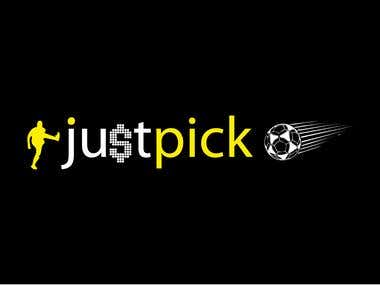 logo for just pick