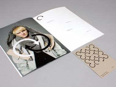 Stationery and print design.
