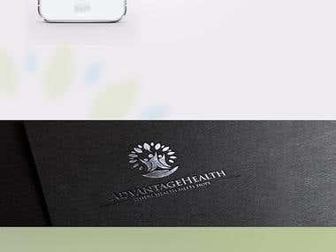 complete branding for Advantage Health Organization