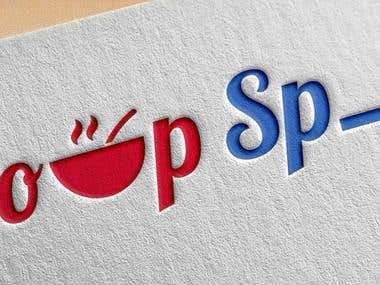 "Logo for A Restaurant ""Soup Space\"""