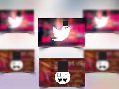 Facebook and Twitter Cover Design