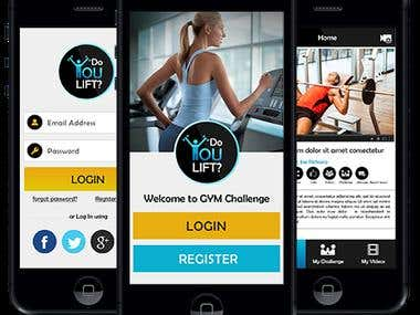 Do You Lift - iPhone & Android APPs