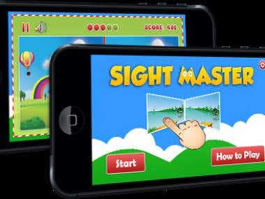 SightMaster - iPhone APP