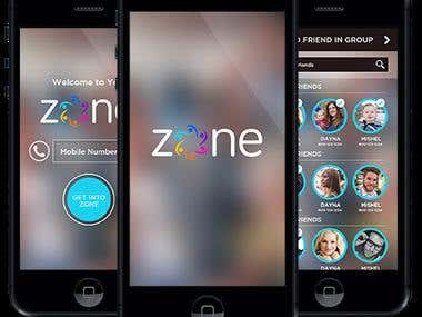 Zone - iPhone & Android   APPs