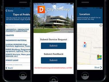 City of Downey - iPhone & Android APPs