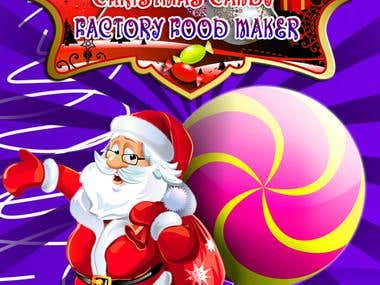A christmas Factory Food Maker