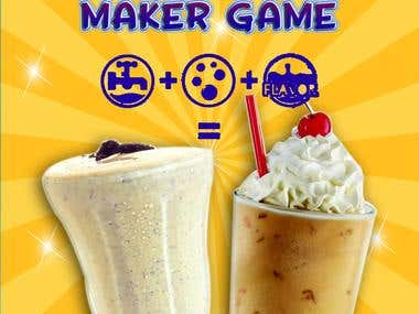 A sweet Sugar Milkshake Maker
