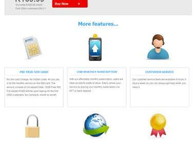 A Data SIM E-commerce Site (Custom PHP)