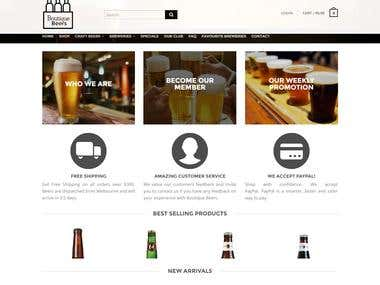 ONLINE BEER SHOP