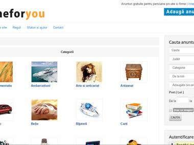 Website anunturi - Onlineforyou.ro