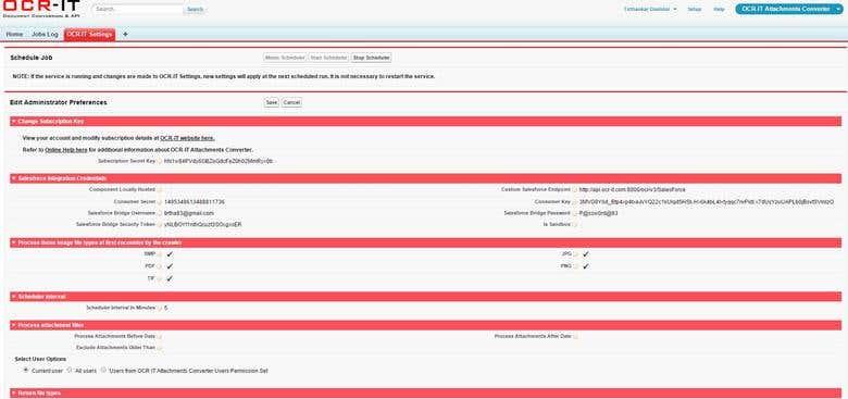 OCR Salesforce App Development | Freelancer