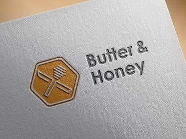 Butter & Honey Logo