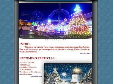Festival (Website)