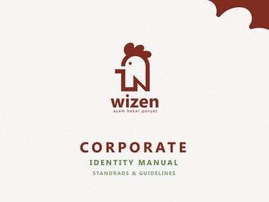 Wizen Grilled Chicken Logo & Guidelines