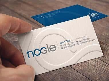 Nogle Business Card Design