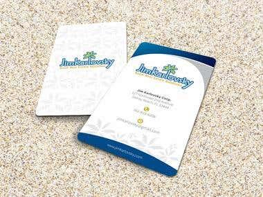 Jim Karlovsky Business Card