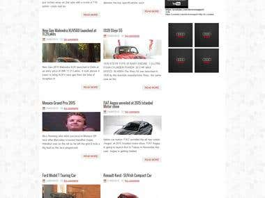 Motoring India website