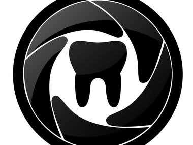 Logo for a dental photograpy association