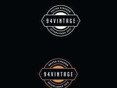 94 Vintage Logo