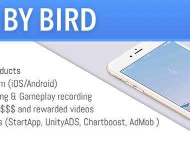 Climby Bird. Unity3D