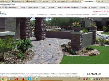 Landscaping Business related WordPress website.