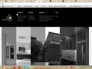 Real Estate Business website based on WordPress.