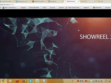 Creative business WordPress website