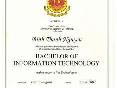 Bachelor of IT