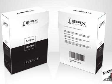 Packaging Design for Epix