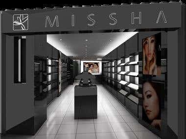 Missha Store Design, Singapore