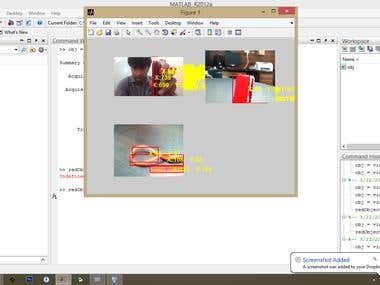 Red Color Detection using MATLAB