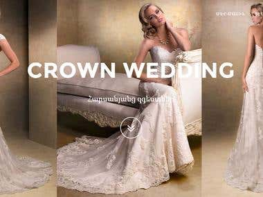 Сайт визитка для Свадебного салона