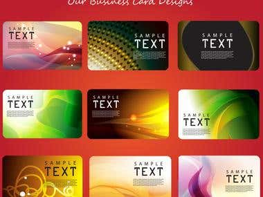 Business Cards JPG/VECTOR