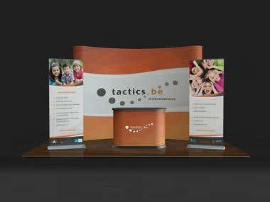 Booth Design for Tactics.co