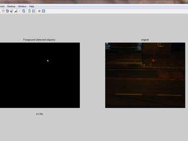 object detection in low contrast video