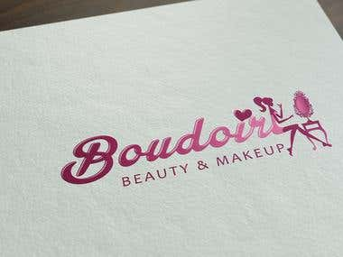 Budoair beauty and makeup logo