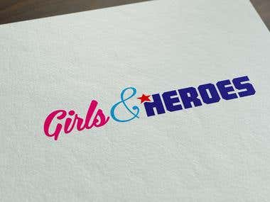 Girls & Heroes logo