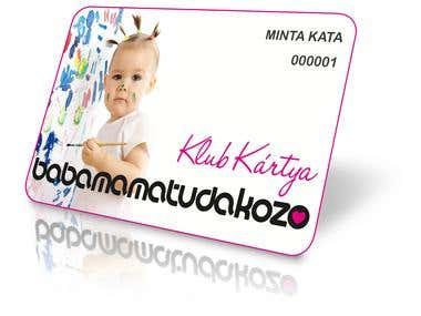 club card design