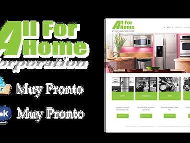 All For Home Corpotation  (Web Site)