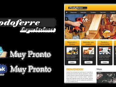 TodoFerre Importaciones  (Web Site)