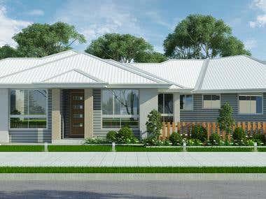 House render for an Australian client......