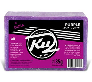 Develope of graphic identity for Ku2 ski wax