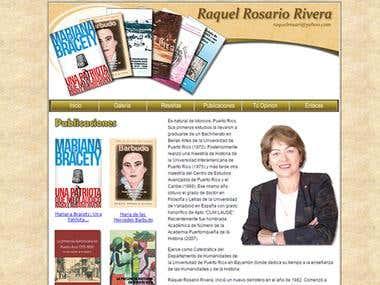Raquel Rosario Website