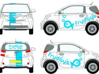 Fish and chips car