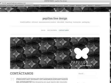 Branding, logo, Wordpress site, bussines card design for PFD