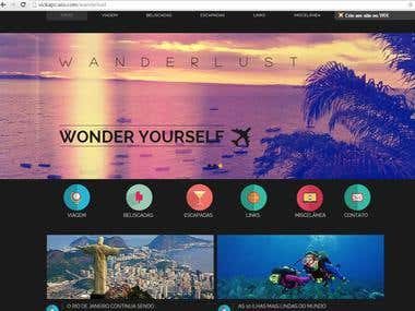 Wanderlust Website
