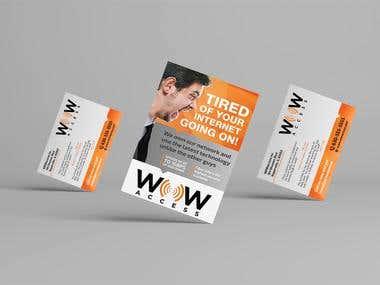 Flyer for WOWaccess
